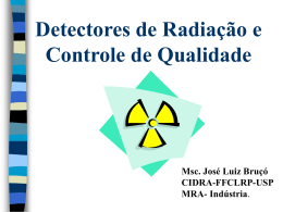 Radiation Detectors & Quality Control