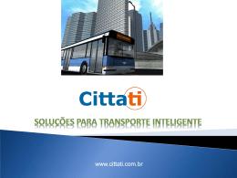 SISTEMA_CITTATI - Curso de Transporte