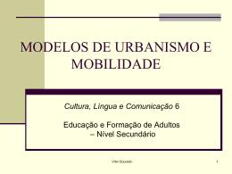 modelos de urbanismo e mobilidade - Pradigital