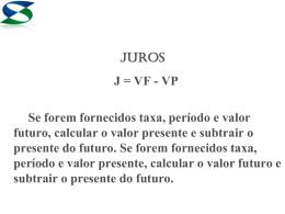 juros (jc)