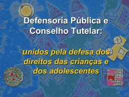 Direito da Criança e Adolescente