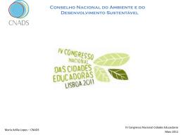 Conselho Nacional do Ambiente e do Desenvolvimento Sustentável