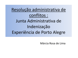 Resolução administrativa de conflitos
