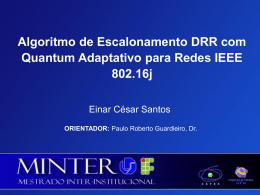 Solução Proposta - ns2-802-16j-adaptive