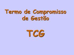 Apresentação TCGM
