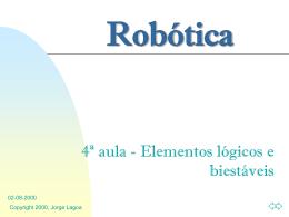 4ª Aula - Página de Automação e Robótica