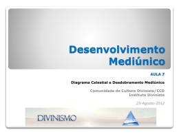 Curso de Desenvolvimento Mediúnico 2012 – Aula 7