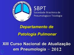 Biópsia Pulmonar
