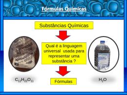 Fórmulas Químicas - Lógico Cursos Aliados