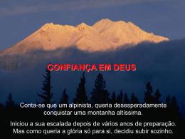 """Reflexão """"Confiança em Deus!"""""""