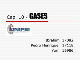 Cap. 10 - GASES