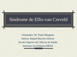 Síndrome de Ellis Van Creveld