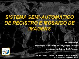 Sistema semi-automático de registro e mosaico - mtc-m18:80