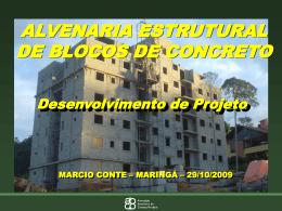 ALVENARIA ESTRUTURAL COM BLOCOS DE CONCRETO