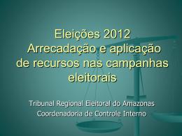 Eleições 2012 PSC - CRC-AM