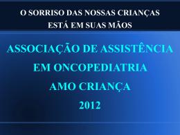 Apresentação de Contas 2010