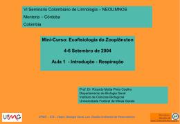 Slide 1 - Ecologia e Gestão Ambiental - UFMG