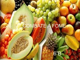 Uma alimentação saudável e equilibrada nos previne contra