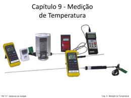 Cap. 9 – Medição de temperatura