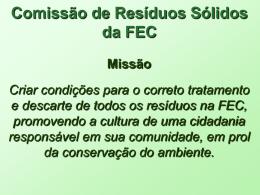 Resíduo sólido doméstico da FEC Envelopes