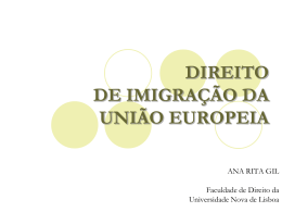 Direito da imigração da União Europeia