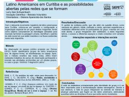 Latino Americanos em Curitiba e as possibilidades