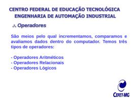 CENTRO FEDERAL DE EDUCAÇÃO