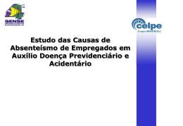 doença previdenciário e acidentário (ct 20)