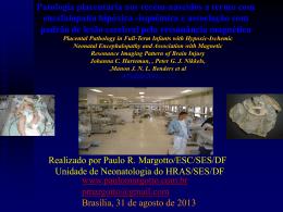 Patologia placentária nos recém