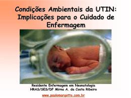 Condições Ambientais da UTIN