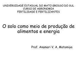 Slide 1 - Agronomia