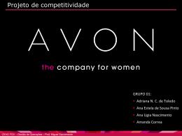 Projeto Competitividadae - AVON FINAL 11