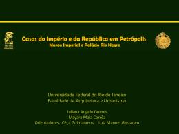 Apresentação 1 - ARQUIMuseus : Grupo de Estudos de Arquitetura