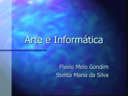 Arte e Informática - Centro de Informática da UFPE