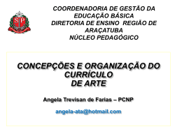 CURRICULO__ARTE - Diretoria de Ensino