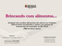 APRESENTAÇÃO DRE-SA 14-12