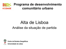 PER 1 - Grupo Comunitário da Alta de Lisboa
