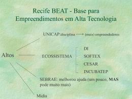 Recife BEAT - Base para Empreendimentos em Alta Tecnologia