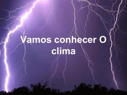 Vamos Conhecer o Clima