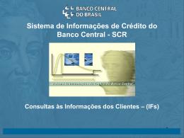 Consulta às informações prestadas pela própria IF Consulta às