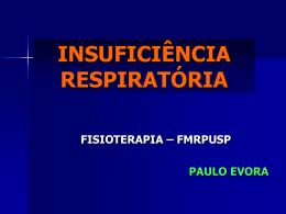 Insuficiência Respiratória Aguda (IRA)