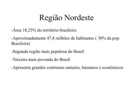 Região Nordeste - Somar Concursos