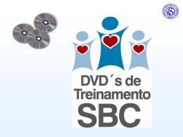 Book Comercial DVD`s de Treinamento SBC