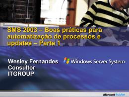 Integração do SMS Active Directory