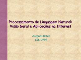 Processamento de Linguagem Natural: Visão Geral e Aplicações na