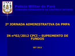 palestra_sup_fundos_set_2013 - Proxy da Polícia Militar do Pará!