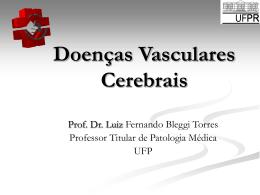 Doenças Vasculares Cerebrais