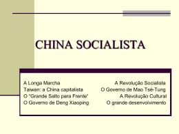 a china socialista