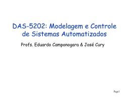 E_start - Departamento de Automação e Sistemas