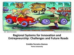Emídio Ferreira Gomes – Regional Systems for Innovation